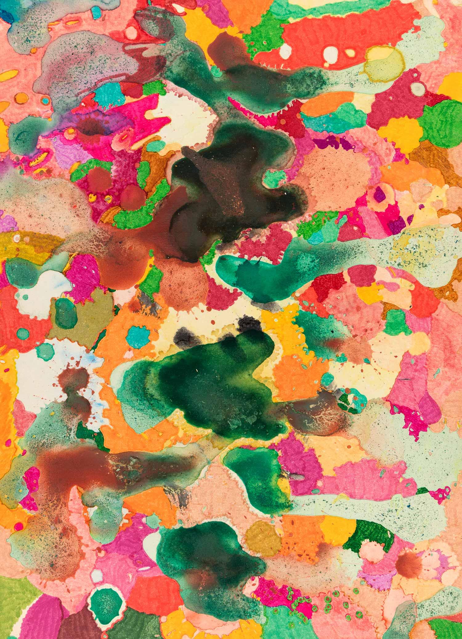 <b>Delicatessen III</b><br> Técnica mixta sobre papel Canson Añejo<br> 34 x 24,5 cm
