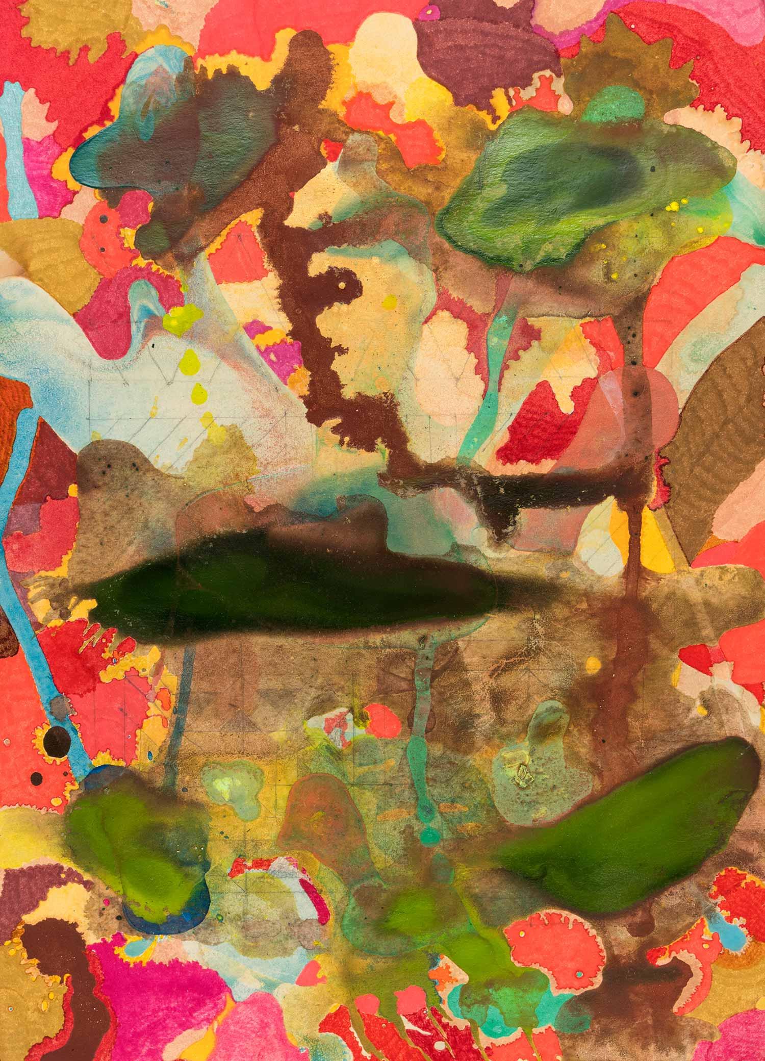 <b>Delicatessen IV</b><br> Técnica mixta sobre papel Canson Añejo<br> 34 x 24,5 cm