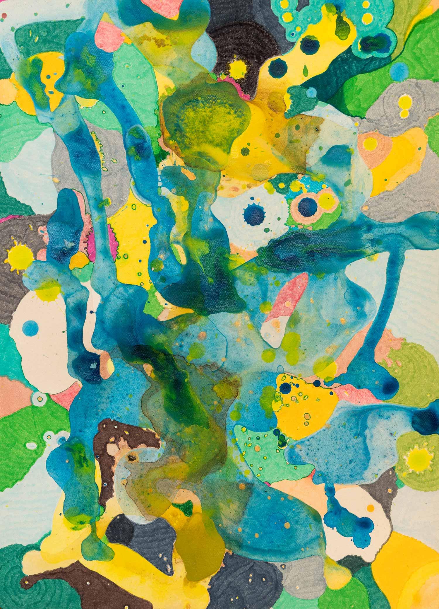 <b>Delicatessen VI<b><br> Técnica mixta sobre papel Canson Añejo<br> 34 x 24,5 cm